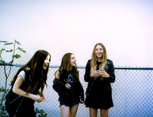 Haim official photo by Tom Beard