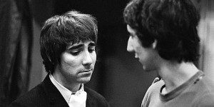 Pete Townshend and Keith Moon, The Who, 1968