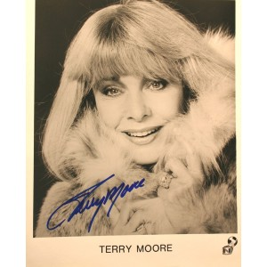 terry-moore-signed-photo