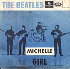 Beatles Michelle blaa  ミッシェル