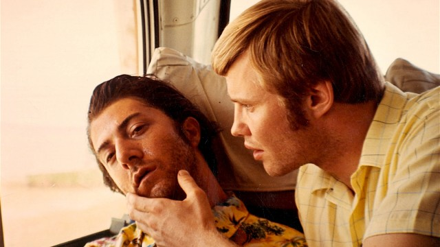 No Merchandising. Editorial Use Only. No Book Cover Usage. Mandatory Credit: Photo by Moviestore Collection/REX (1583251a) Midnight Cowboy,  Dustin Hoffman,  Jon Voight Film and Television