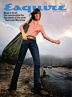two-lane-blacktop-esquire-cover-laurie-bird