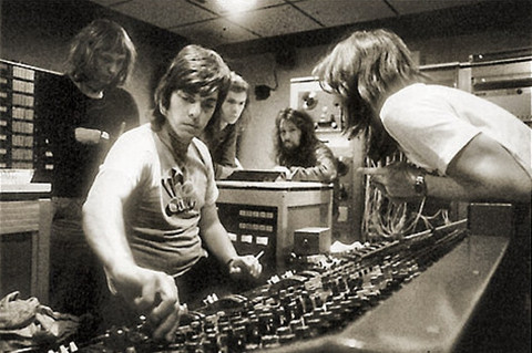 Alan+Parsons+and+Pink+Floyd+at+Abbey+Road+Studio+1972